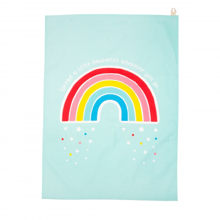 FAB026_A_ChasingRainbows_TeaTowel_Front